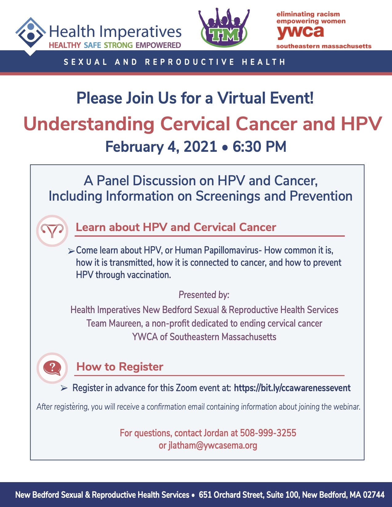 Cervical Cancer HPV Panel Flyer 1.21.2021 HRP RH ADD