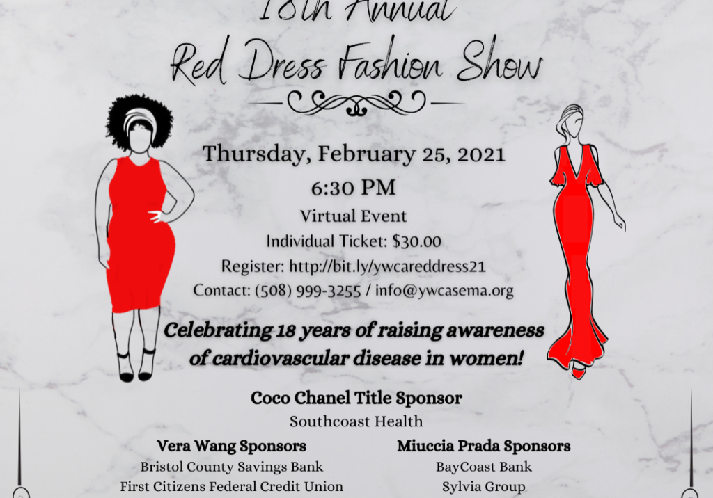 Copy of Save the date Red Dress Flyer